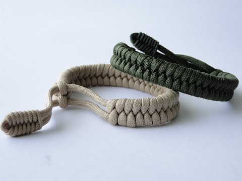 """How to Make a """"Mad Max Style"""" Closed Loop Closure Fishtail Paracord-Mini Fishtail Closure Pull"""