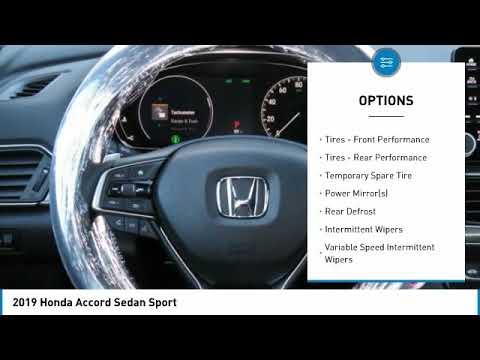2019 Honda Accord Sedan AH191245