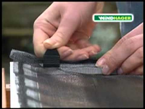 moustiquaire fen tre cadre aluminium youtube
