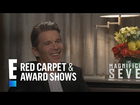 Ethan Hawke Gushes Over JuilliardBound Daughter  E! Live from the Red Carpet