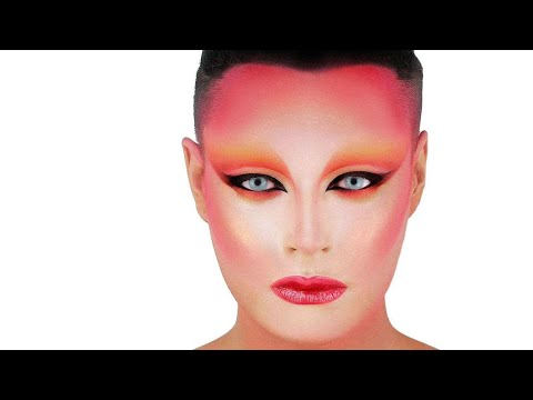 ALIEN FASHION MAKEUP - BOWIE / KABUKI STARSHINE INSPIRED ...