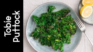 Crispy Kale With Anchovy, Chili And Garlic