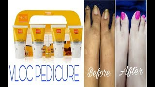 VLCC PEDICURE AND MENICURE AT HOME #theprettylooks