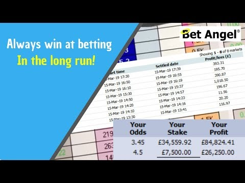 How to always win at betting in the long run