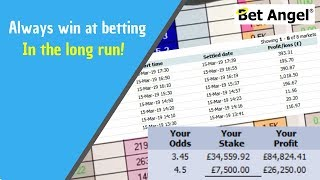 The only way to win at betting in the long run - Explained