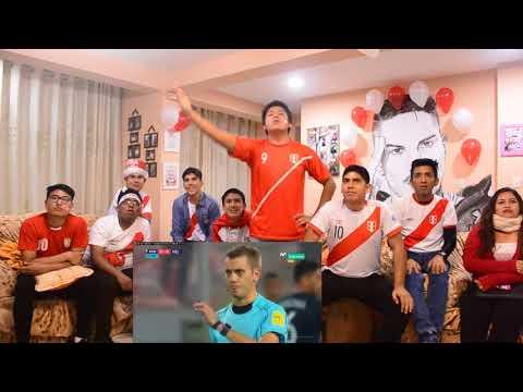 Peru vs Nueva Zelanda (VUELTA) - REACCIONES DE HINCHAS PERUANOS - Mundial de Rusia 2018