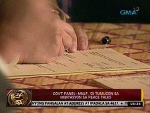 24 Oras: Bangsamoro framework agreement, nilagdaan na sa Malacañang kanina