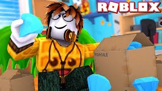 MENJADI YOUTUBER UNBOXING - Roblox Indonesia Unboxing Simulator #1