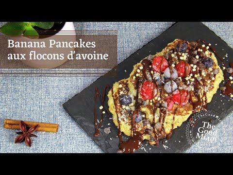 banana-pancake-aux-flocons-d'avoine---thegoodmiam