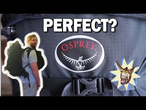 Best Carryon Backpack for Travel? Osprey Farpoint 55 Review
