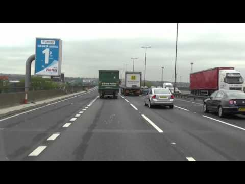 M6 Motorway - Using the new hard shoulder system