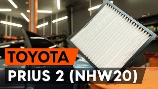 Comment remplacer un filtre d'habitacle sur TOYOTA PRIUS 2 (NHW20) [TUTORIEL AUTODOC]