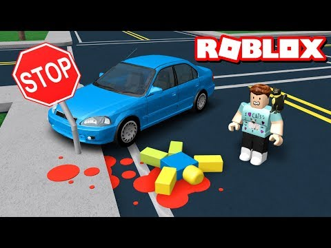I FAILED MY DRIVERS TEST - Roblox Roleplay