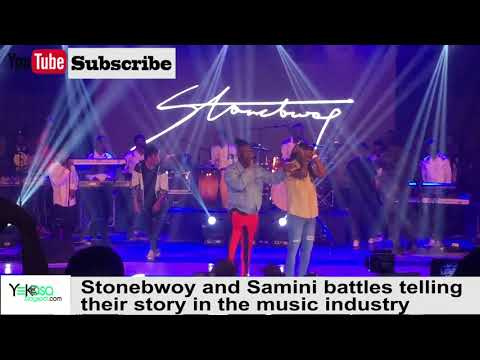 Stonebwoy and Samini battles telling their story in the music industry