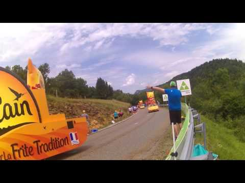 La Caravane Publicitaire - Tour de France 2017 - Dole / Station des Rousses - HD (08/07/17)