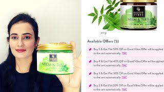 Good Vibes Neem Tulsi Gel | Helps Clear Acne | Fades Away Blemishes | SWATI BHAMBRA