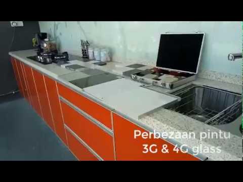 Perbezaan Pintu 3G dan 4G glass