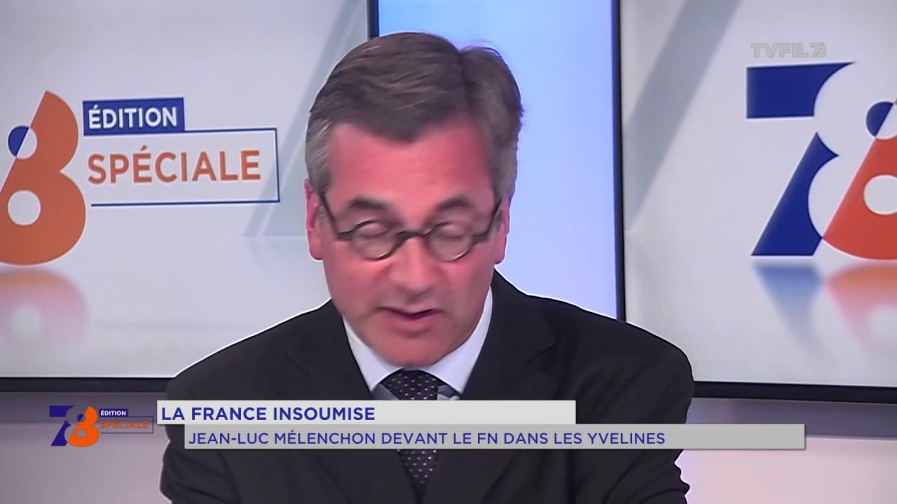 La France Insoumise : Jean-Luc Mélenchon devant le FN dans les Yvelines