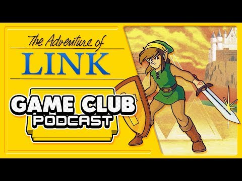 Zelda 2 - Game Club Podcast #1