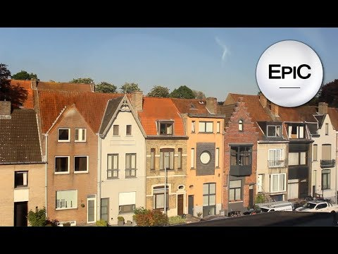 From Bruges To Brussels On Train - Belgium (HD)