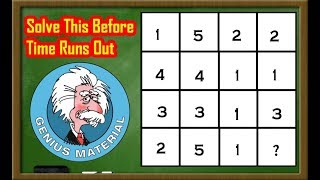 Can you Solve this Math Puzzle Game    Maths Puzzles With Answers   Logic puzzle
