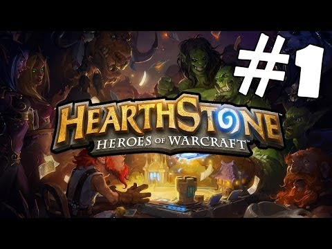 Hearthstone: Heroes of Warcraft Walkthrough Part 1 Gameplay