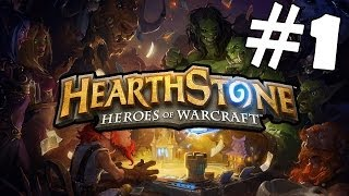 Hearthstone: Heroes of Warcraft Walkthrough Part 1 Gameplay Lets Play Playthrough [HD]