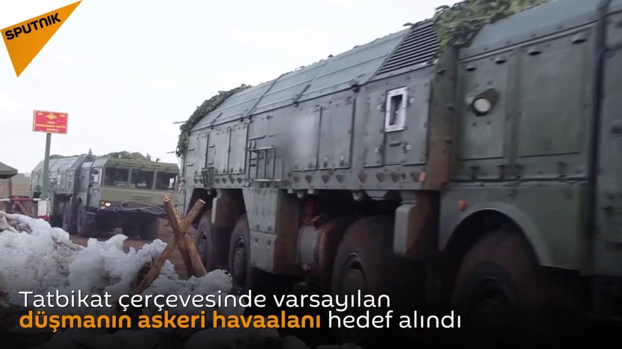 Rus ordusundan İskender-M tatbikatı