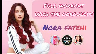 Exclusive: Full dance Class workout with Nora Fatehi // حصة تدريب رقص مع الفنانة نورة فتحي