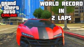 GTA 5 - World Record In 2 Laps! (GTA V Racing)