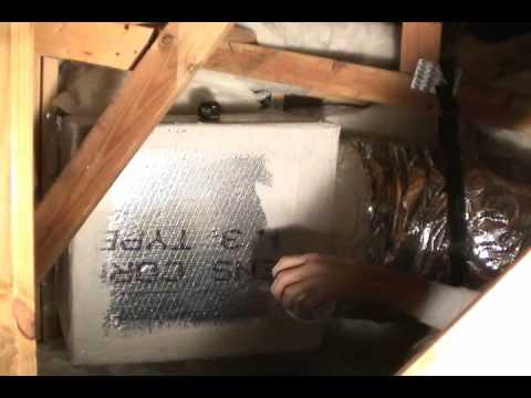 HVAC return box and grill
