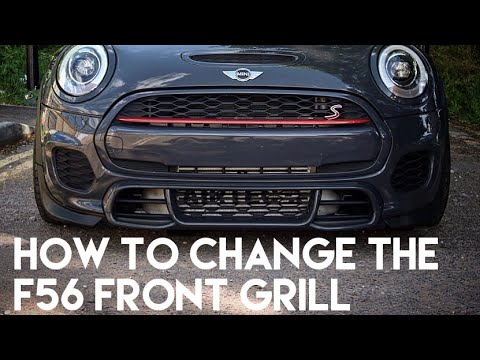 Bmw Mini F56 How To Remove Swap The Front Grill Without Removing