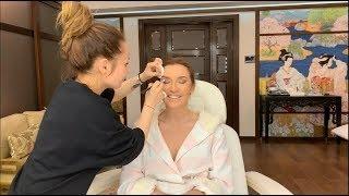 Funny make-up process Оксаны Марченко
