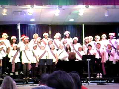 Pandora's Dunedin Elementary School Chorus concert December 16th 2010 part 3