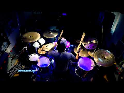 Skillet – Monster – Drum Cover by EJ Luna Official