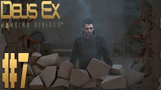 Прохождение Deus Ex Mankind Divided на Максимальной Сложности Настоящий Deus Ex на русском языке Выпуск 7  в выпуске