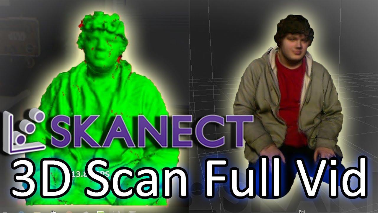 Skanect 3D Scan Full Video