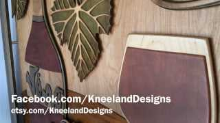 "Kneeland Designs - ""vino"" 3d Wall Hanging Woodwork Motion Perspective"