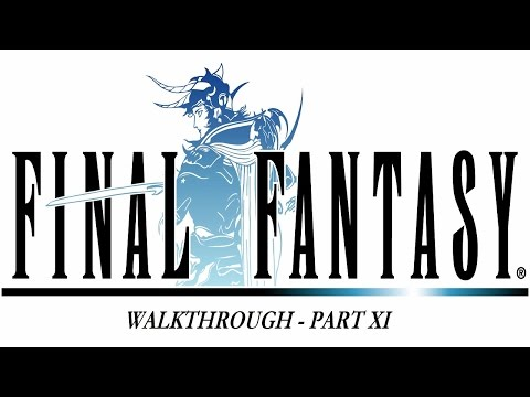 Final Fantasy I #11 - Earth Rod,  Lich (BOSS) and Earth Crystal