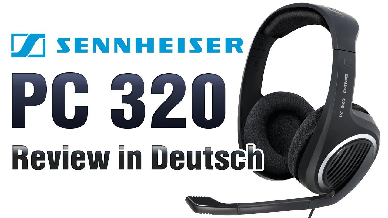 6ea86f49a13 Sennheiser Headset PC320 Review [German] - YouTube