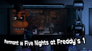Remnant w Five Nights at Freddy's 1 - Teoria FNaF [PL/ENG]