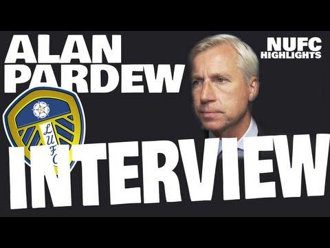 Alan Pardew Leeds post match interview