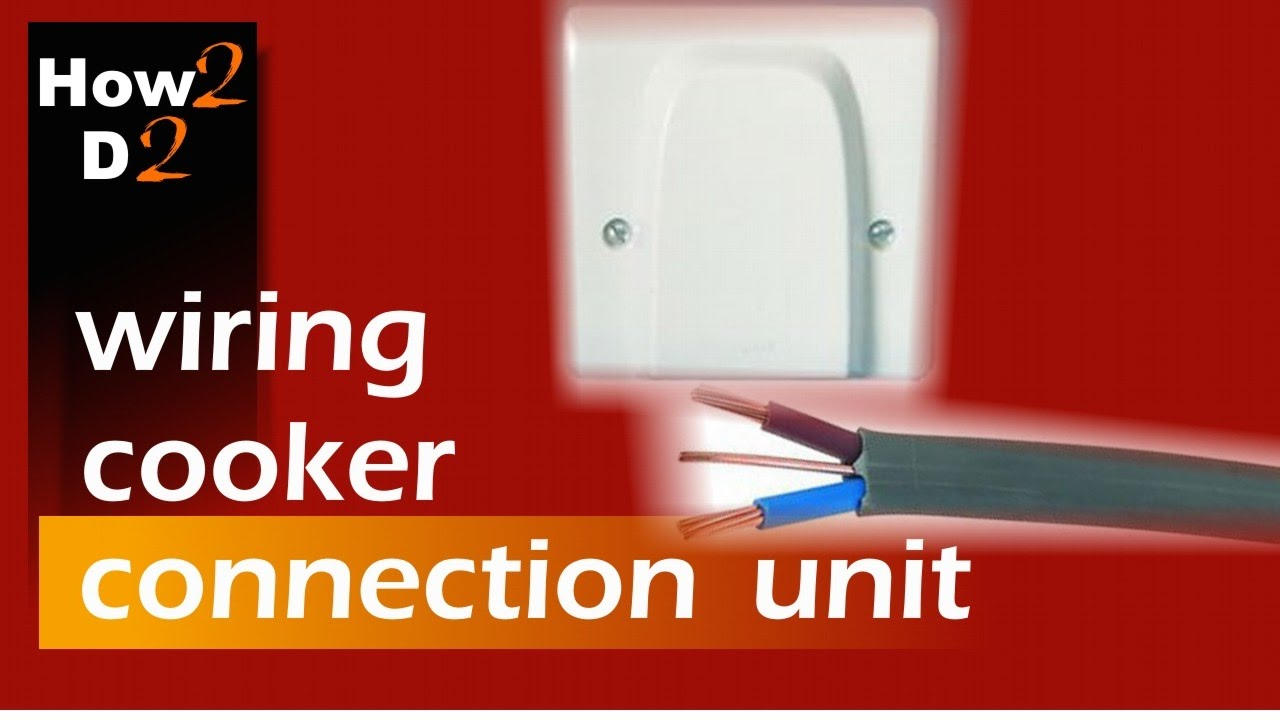how to connect wire cooker wiring cooker connection unit ccu