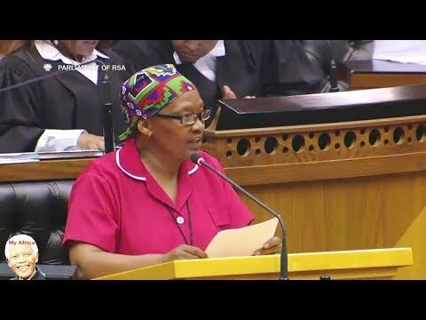 New EFF MP Nolutshungu Maiden Speech In Parliament