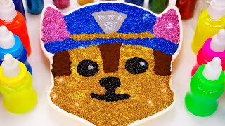 Mixing All Colors Slime Smoothie with Paw Patrol、Ballon| Learn Colors Rainbow Slime for Kids