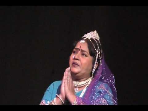 Smt.Pratibha as Mandodari2-in Kannda Mythological drama Prachanda Ravana