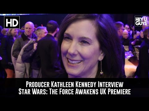 Producer Kathleen Kennedy Premiere Interview: Star Wars - The Force Awakens