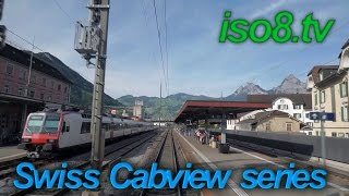 CabView : SBB Re4/4, Switzerland Vol.3 Downhill with precious scenery   [FHD60p]