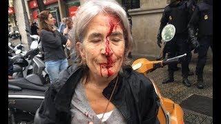 Spanish Police Attack Voters