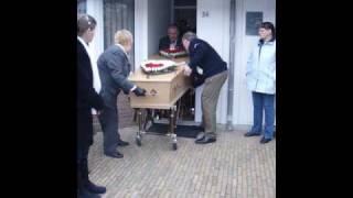 begrafenis van mijn lieve moeder.